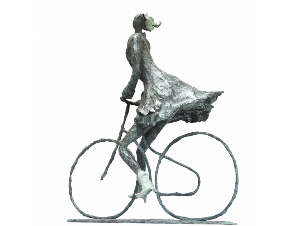 Joy, freedom, girl on a bicycle - Astrid Huisman-Biemans