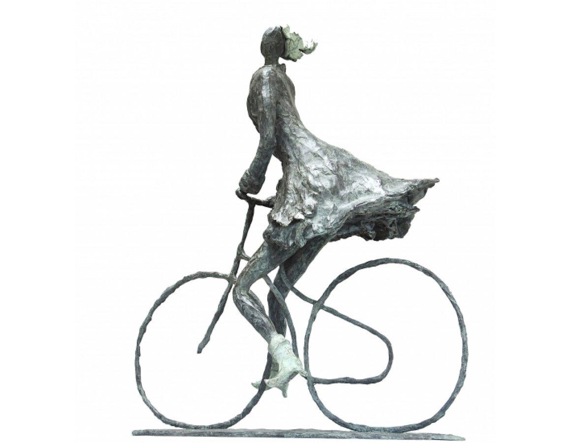 Blijheid, vrijheid, meisje op de fiets - Astrid Huisman-Biemans