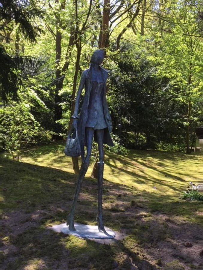 """Sculptuur: """"Elle est très belle!"""" - Astrid Huisman-Biemans"""