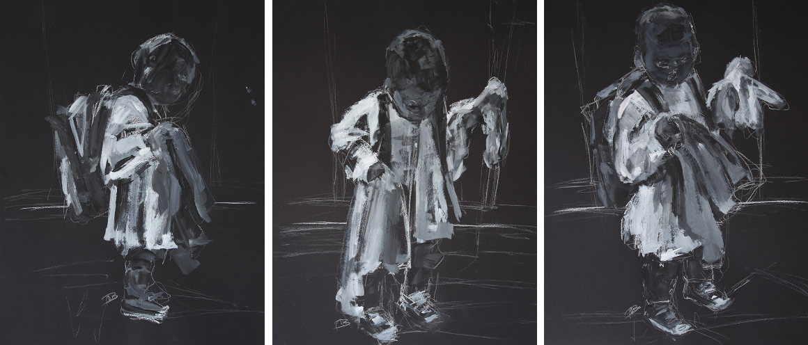 Uninhibited    Triptych - Astrid Huisman-Biemans