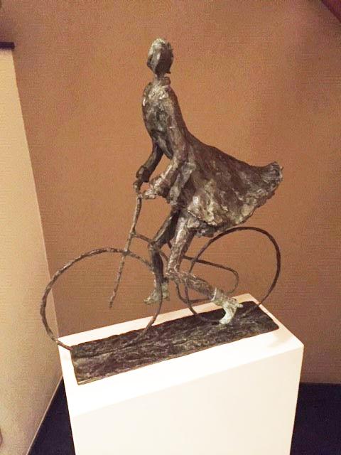 'A Walk' and 'Joy, freedom, girl on a bicycle' - Astrid Huisman-Biemans