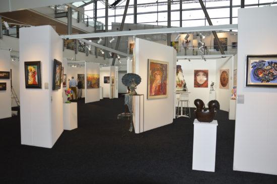 First Art Fair; stand Okker Art Gallery – Passengers Terminal Amsterdam - Astrid Huisman-Biemans