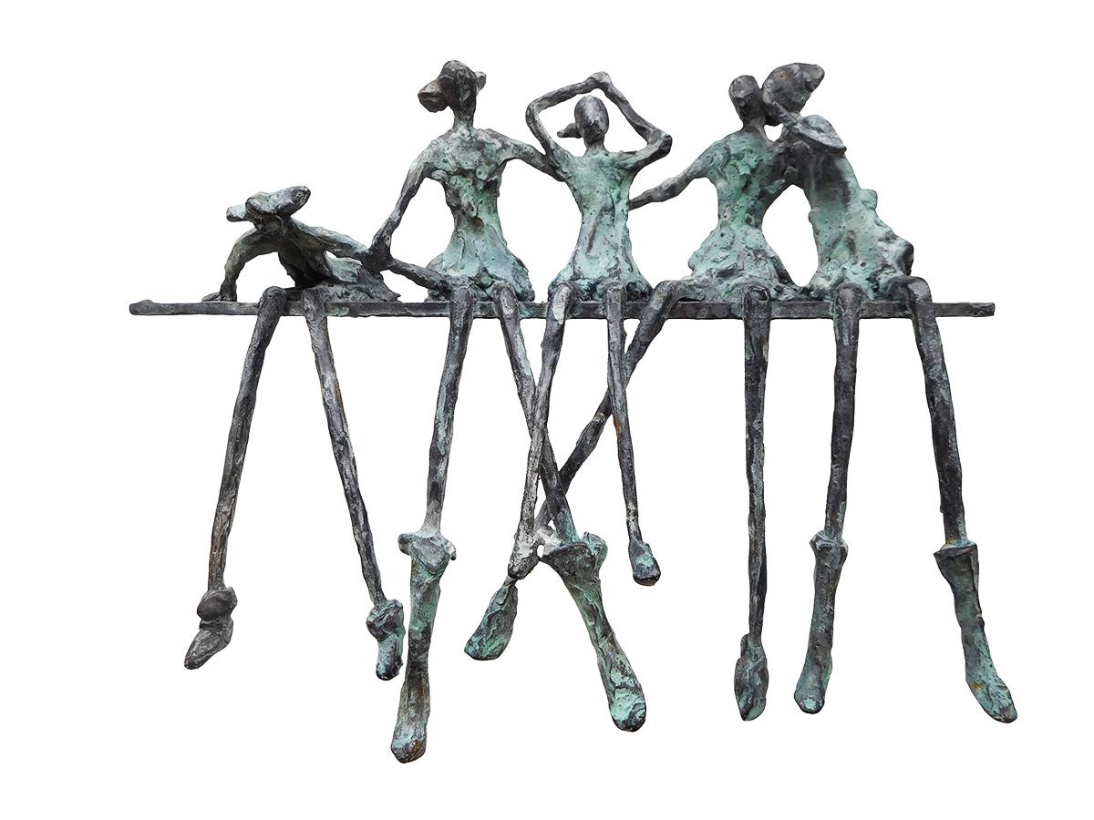 Meisjes capriolen - Astrid Huisman-Biemans
